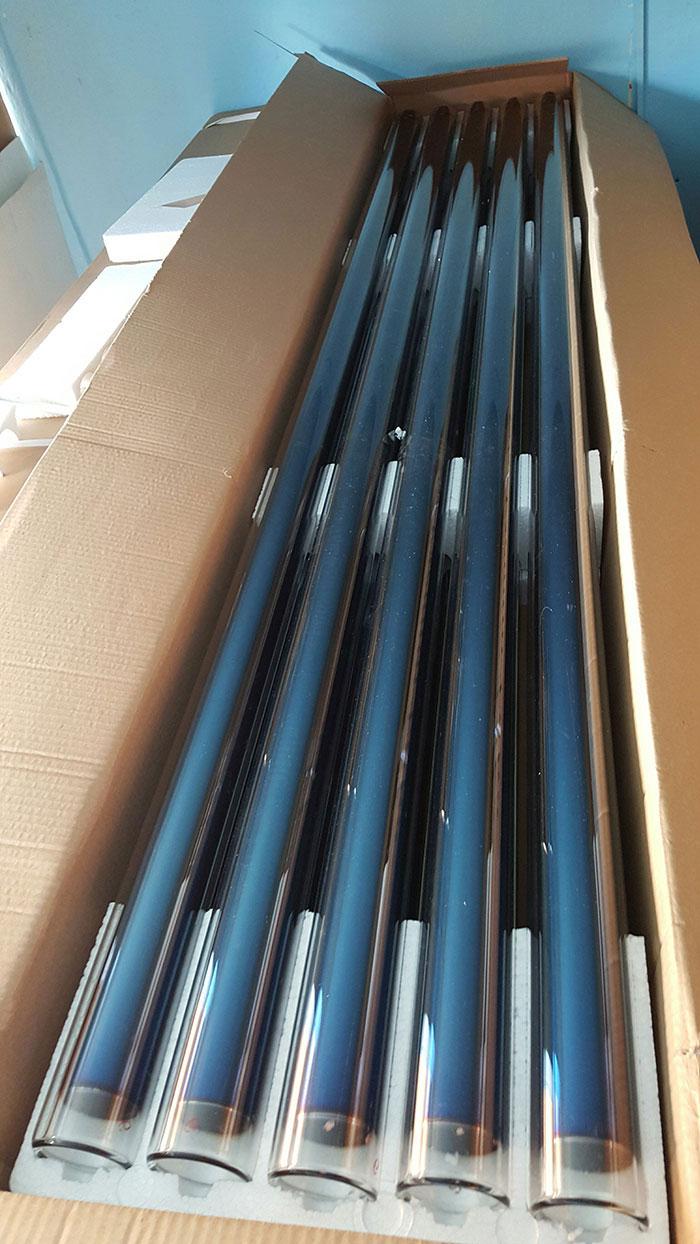 Tub vidat pentru panouri solare nepresurizate de 58 mm si 1800 mm