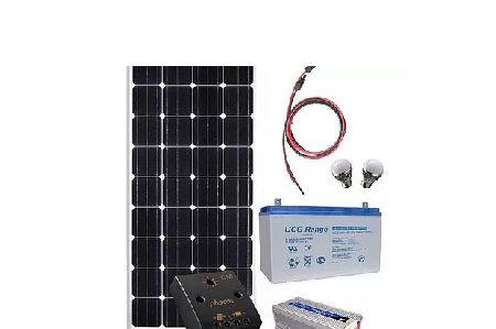 Kit panou fotovoltaic mobil, 12V, 330Wh