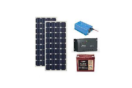 Kit panou fotovoltaic mobil, 220V, 400Wh