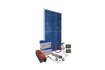 Kit panou fotovoltaic monofazat 1 kW, Off Grid