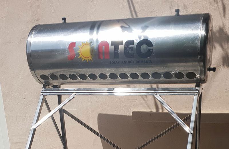Kit Panou Solar Nepresurizat 150 litri, INOX, Sontec - cu vas flotor