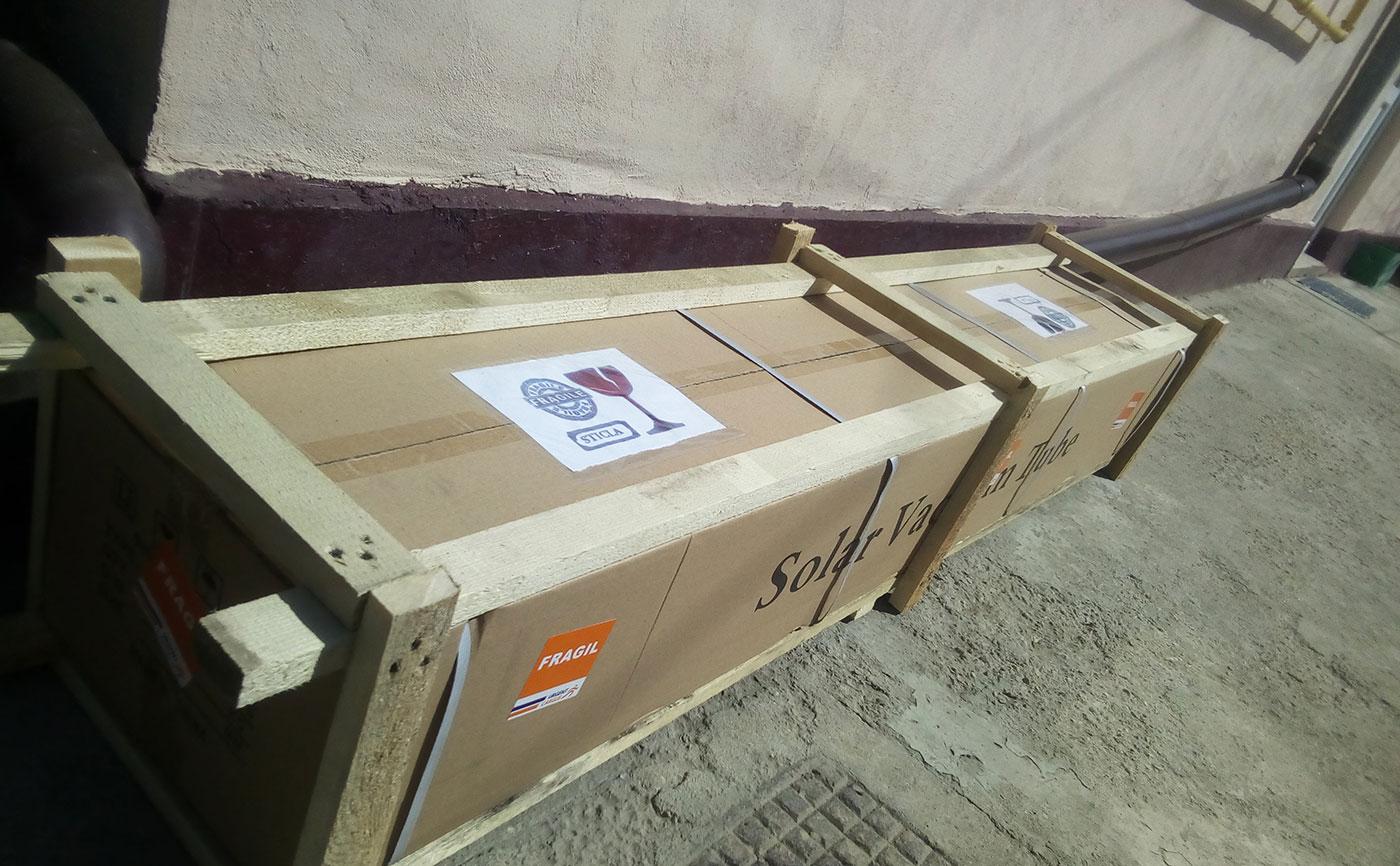 Pachet 12 tuburi vidate pentru panouri solare nepresurizate de 58mm si 1800 mm