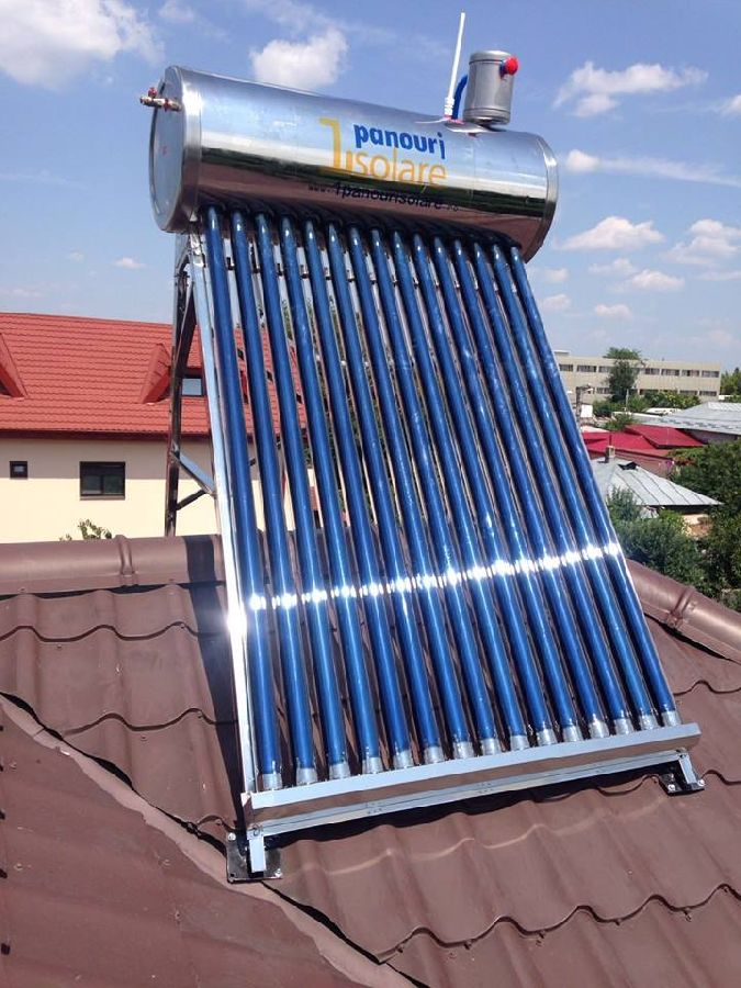 Kit Panou solar termic nepresurizat 1ENERGY de 150 litri