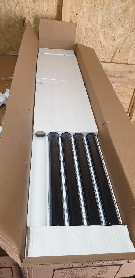 Tuburi vidate pentru panouri solare nepresurizate 58mm/1800mm - pachet 4 bucati
